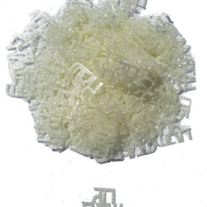 קונפטי גליטר חג שמח לבן פנינה (ייחודי)