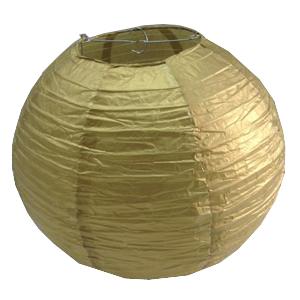 """אהיל זהב קוטר 25 ס""""מ"""