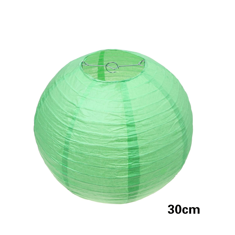 """אהיל ירוק תפוח קוטר 30 ס""""מ"""