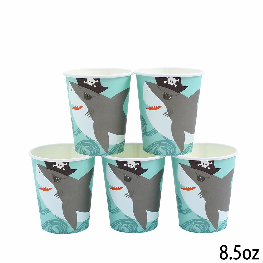 כוסות נייר עבות פיראטים