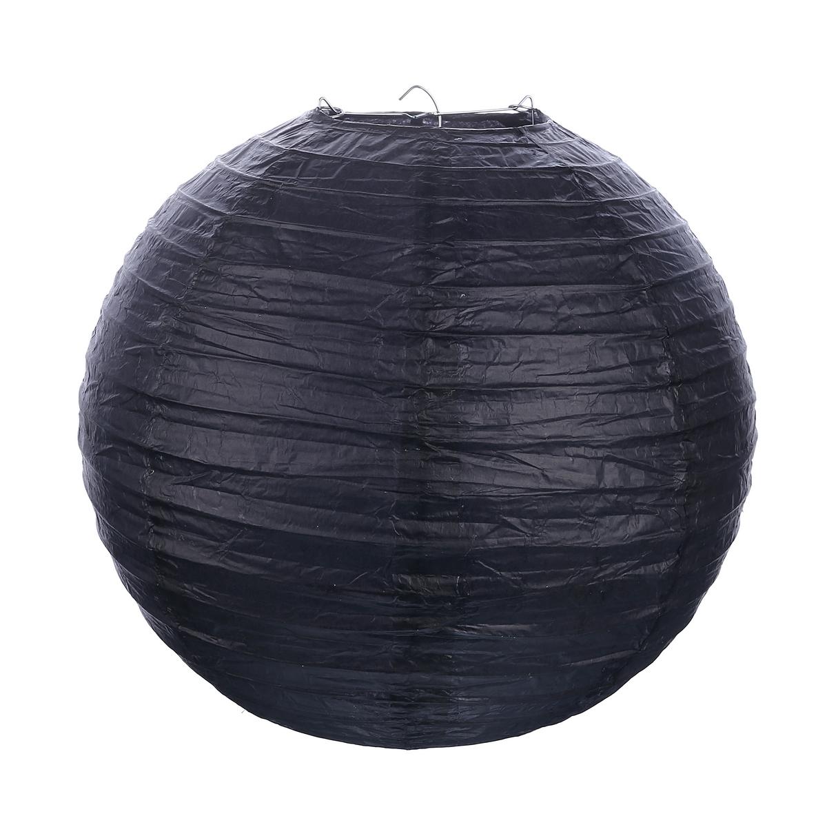 """אהיל שחור קוטר 30 ס""""מ"""