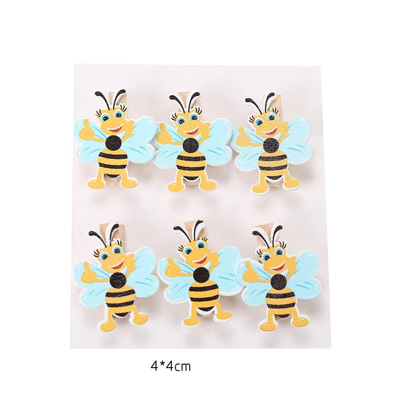 אטבי דבורים לדקורציה