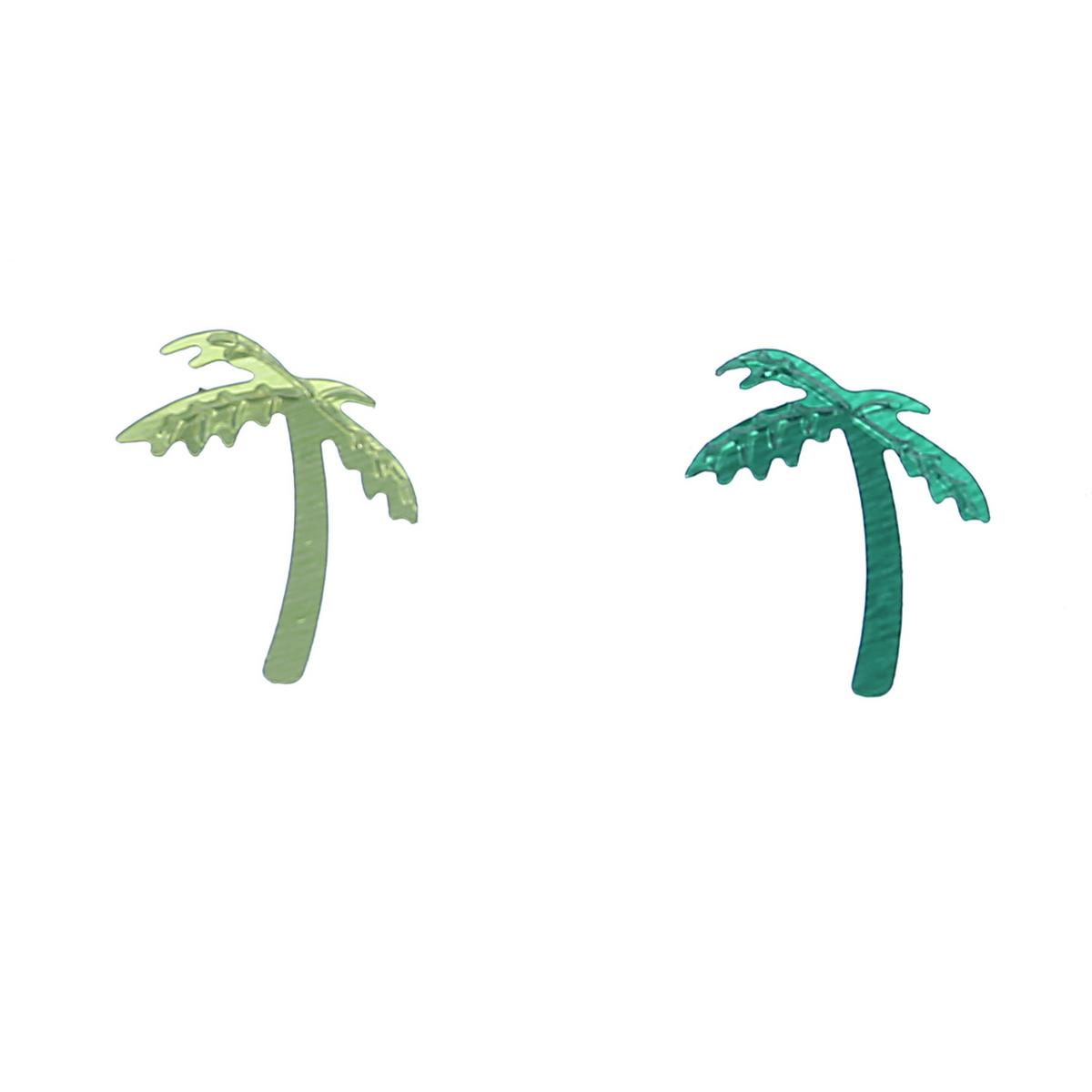 קונפטי טרופי ירוק בהיר וכהה ( ייחודי )