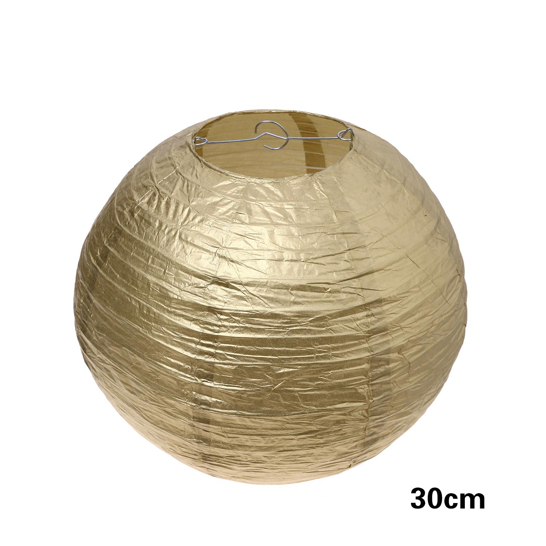 """אהיל זהב קוטר 30 ס""""מ"""