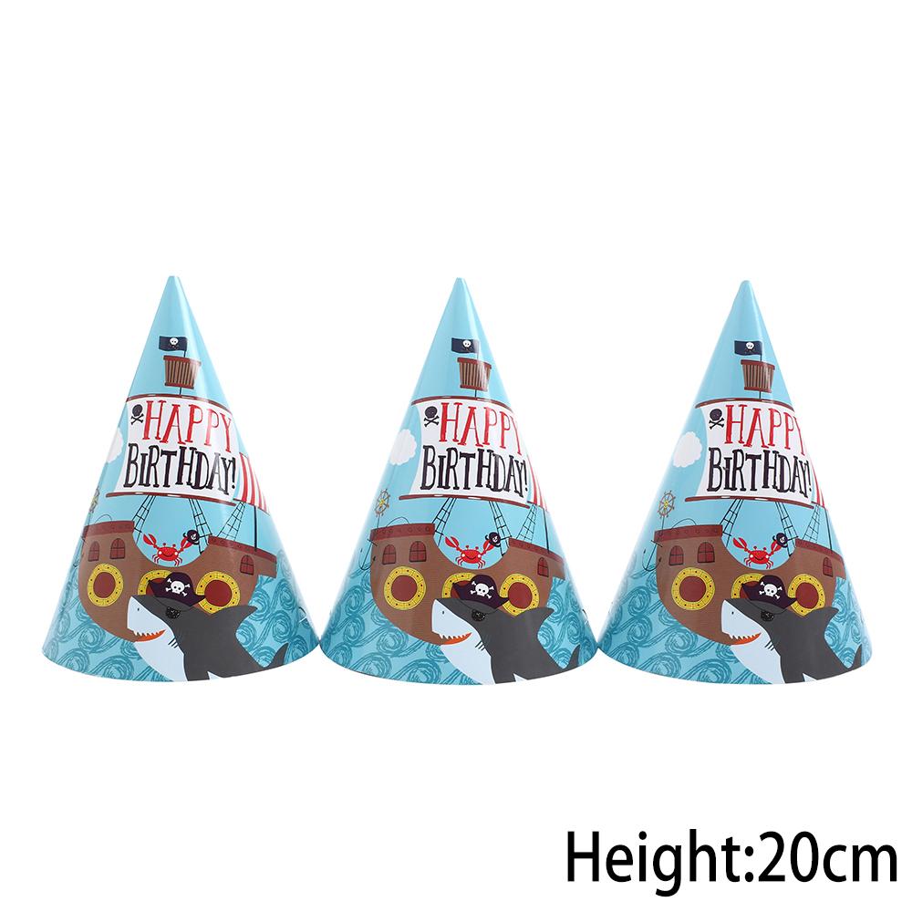 כובעי מסיבה פיראטים
