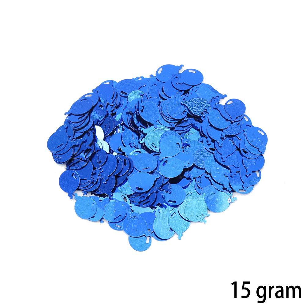 קונפטי בלונים קטנים בכחול