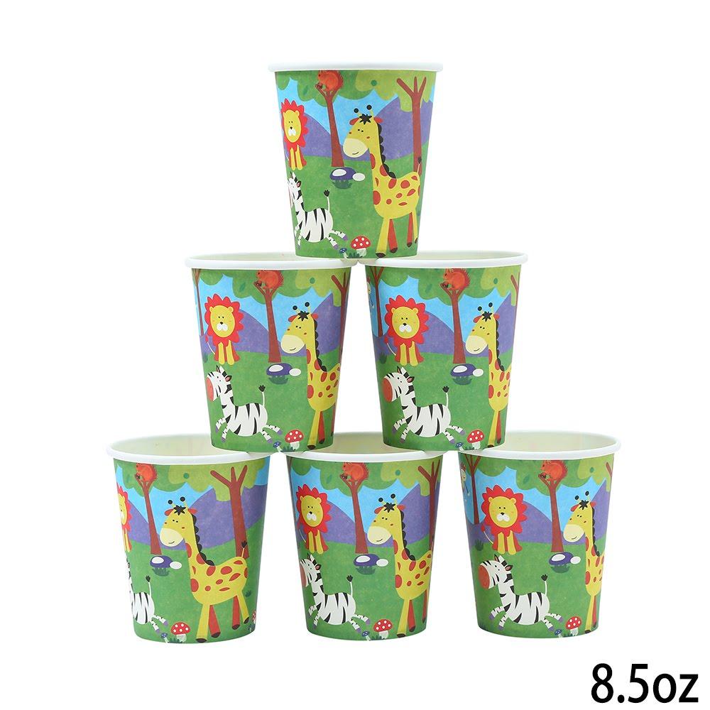 כוסות נייר ג'ונגל