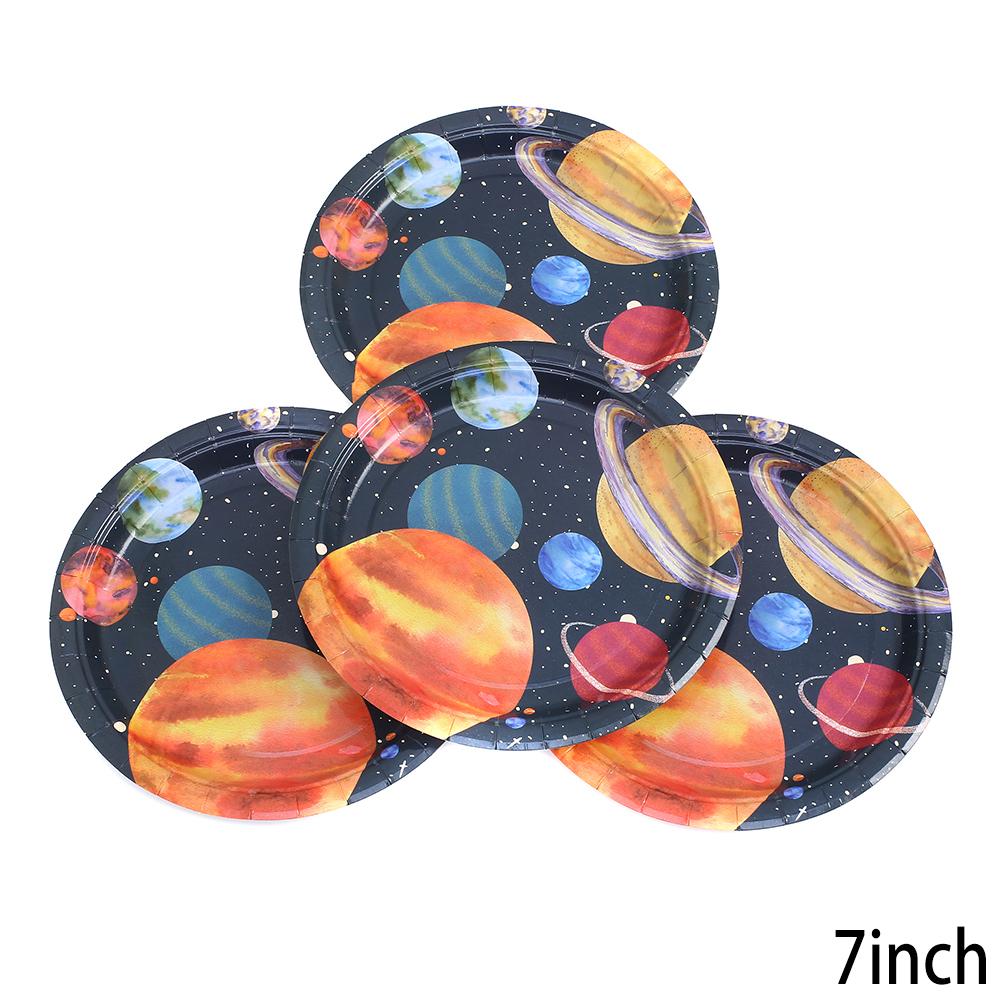 צלחות נייר קטנות חלל