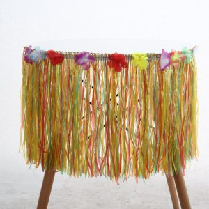 חצאית הוואי צבעונית לגוף