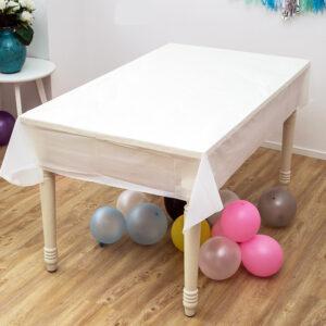 מפת שולחן אלבד 1.8 מ' – לבנה