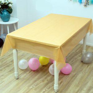 מפת שולחן אלבד 2.7 מ' – צהובה