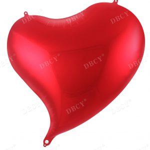 """בלון מיילר """"19 לב אדום דגם טיפה"""