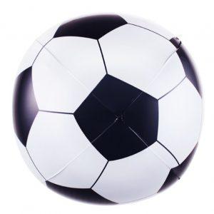 בלון מיילר כדור כדורגל שחור לבן 3D