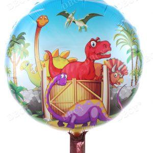 """בלון מיילר """"18 דינוזאורים"""