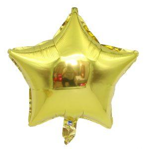 """בלון מיילר """"18 כוכב זהב"""