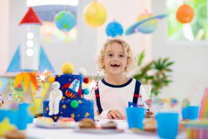 פעילויות ומשחקים ליום הולדת חלל