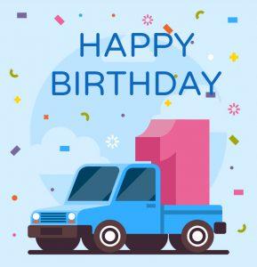 הזמנה ליום הולדת מכוניות